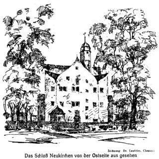 Schloss Neukirchen von Osten